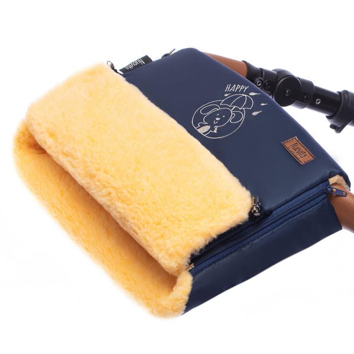 Муфты для рук Nuovita Муфта меховая для коляски Islanda Pesco