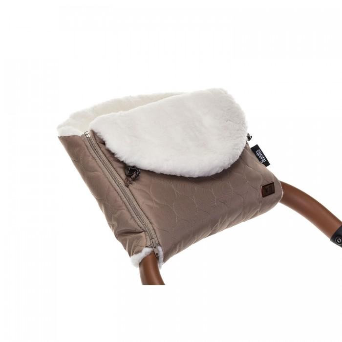 Купить Муфты для рук, Nuovita Муфта меховая для коляски Polare Bianco