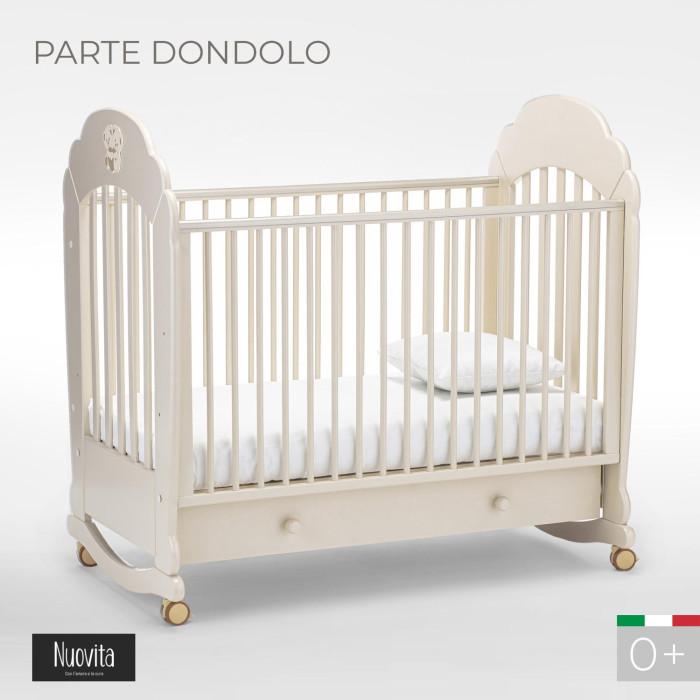 Детская кроватка Nuovita Parte dondolo качалка