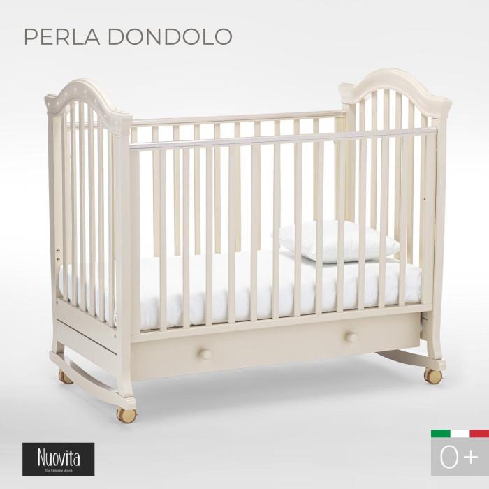 Детская кроватка Nuovita Perla dondolo качалка