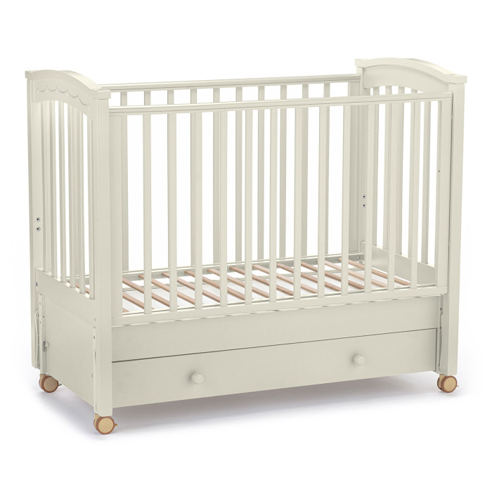 детские кроватки агат золушка 6 маятник продольный с ящиком Детские кроватки Nuovita Perla solo swing продольный маятник