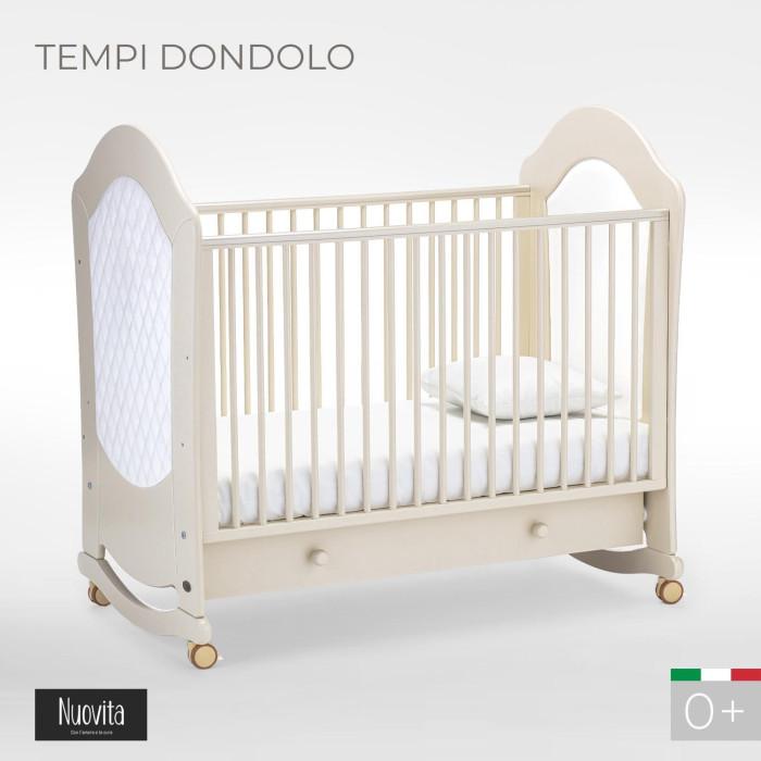 обычная кроватка 120x60 вдк magico mini берёза Детские кроватки Nuovita Tempi dondolo