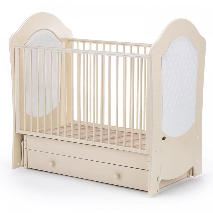 обычная кроватка 120x60 вдк magico mini берёза Детские кроватки Nuovita Tempi Swing поперечный маятник