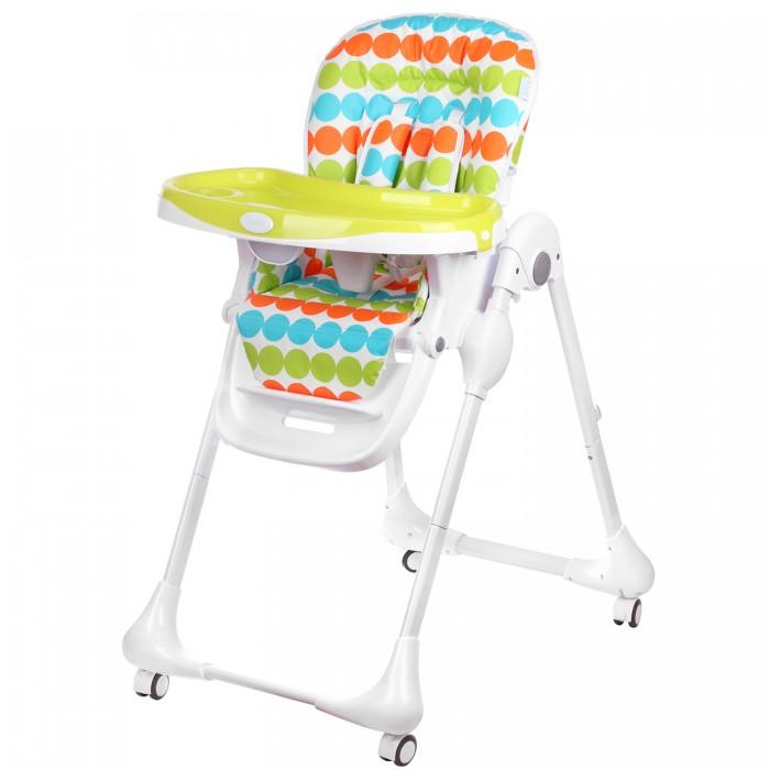 Стульчик для кормления Nuovita  BeataBeataДетский стульчик для кормления Nuovita Beata – это стильный и красивый стульчик для кормления деток от 6 месяцев до 3 лет, который понравится родителям не только своим внешним видом, но и функционалом. Ребенку будет очень комфортно в нем, так как спинка и подножка стульчика могут регулироваться в 3 положениях по наклону и высоте соответственно, а также на выбор доступно 7 возможных вариантов высоты сидения.  Для удобства малыша здесь имеется мягкий вкладыш и съемная столешница, а надежное и устойчивое положение стула обеспечивает прочный металлический каркас с поворотными колесиками, передние из которых оснащены тормозами.  Особенности: возрастная группа: от 6 месяцев до 3 лет; 3 уровня положения наклона спинки (полусидя, полулежа, сидя); пятиточечные ремни безопасности; съемный поднос, регулируемый в 3 положениях; регулируемая подножка; количество положений подножки: 3 мягкий вкладыш; 4 колеса; 2 стопора; съемный, легко чистящийся чехол; 6 уровней высоты сиденья; самостоятельно стоит в сложенном состоянии; Размеры в разложенном виде (ДхШхВ), см: 60 х 94 х 103 Размеры в сложенном виде (ДхШхВ), см: 58 х 32 х 96 Вес товара, кг 9.3<br>
