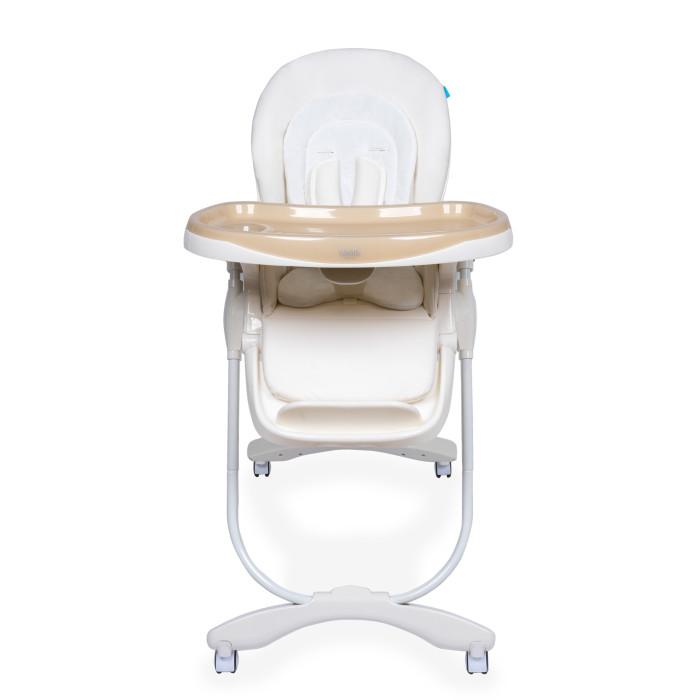 Стульчик для кормления Nuovita  FantasiaFantasiaДетский стульчик Nuovita Fantasia для кормления деток от 6 месяцев до 3 лет, который понравится родителям не только своим внешним видом, но и функционалом. Ребенку будет очень комфортно в нем, так как спинка и подножка стульчика могут регулироваться в 3 положениях по наклону и высоте соответственно, а также на выбор доступно 7 возможных вариантов высоты сидения.  Для удобства малыша здесь имеется и съемная столешница, а надежное и устойчивое положение стула обеспечивает прочный металлический каркас с поворотными колесиками, передние из которых оснащены тормозами.  Особенности: возрастная группа: от 6 месяцев до 3 лет; 3 уровня положения наклона спинки (полусидя, полулежа, сидя); пятиточечные ремни безопасности; съемный поднос, регулируемый в 3 положениях; регулируемая подножка; количество положений подножки: 3; 4 колеса; 2 фиксатора; съемный, легко чистящийся чехол; 7 уровней высоты сиденья; самостоятельно стоит в сложенном состоянии; Габаритные размеры в разложенном виде (ДхШхВ), см: 60 х 85 х 109; Габаритные размеры в сложенном виде (ДхШхВ), см: 58 х 32 х 99; Вес товара, кг 10,2<br>
