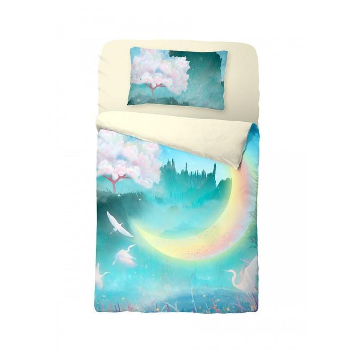 Постельное белье Облачко New moon на резинке (3 предмета)