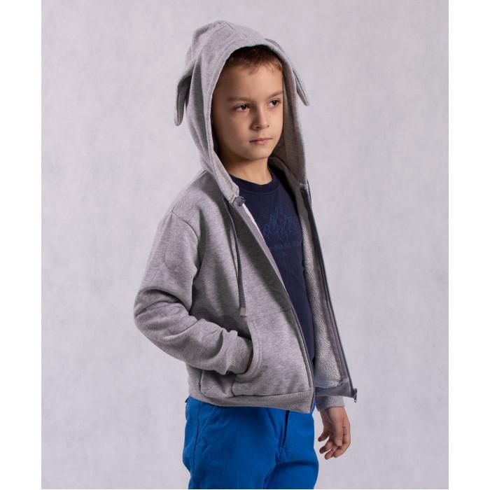 Купить Толстовки, свитшоты, худи, Oblicools Худи детский с капюшоном и игрушечный Заяц Ро Миро 2 в 1