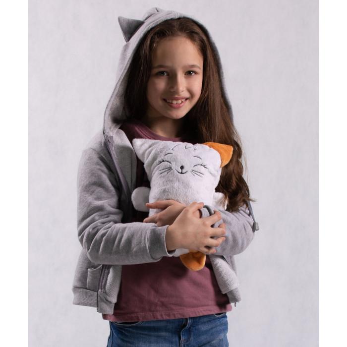 Купить Толстовки, свитшоты, худи, Oblicools Худи детский с капюшоном и игрушка Кот МозиЗю 2 в 1