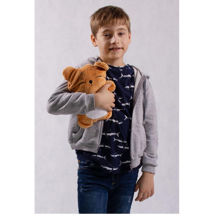 Oblicools Худи детский с капюшоном и игрушка Мишка Боньк Май 2 в 1 фото