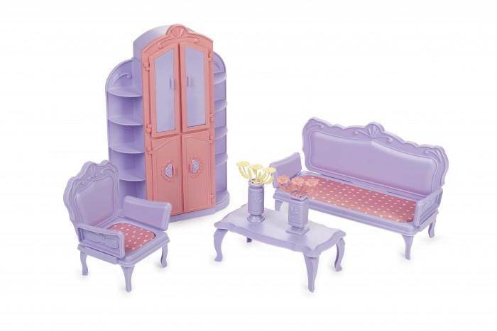 конструктор огонек гото предестинация Кукольные домики и мебель Огонек Гостиная комната Маленькая принцесса