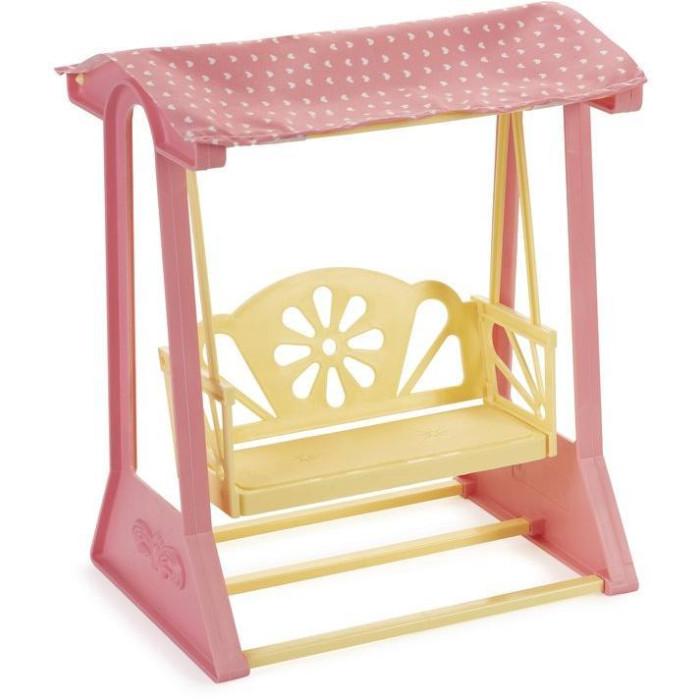 качели Кукольные домики и мебель Огонек Качели Маленькая принцесса