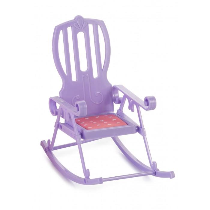 Кукольные домики и мебель Огонек Кресло-качалка для куклы Маленькая принцесса