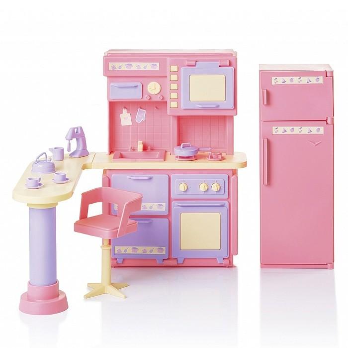 Кукольные домики и мебель Огонек Кухня Маленькая принцесса