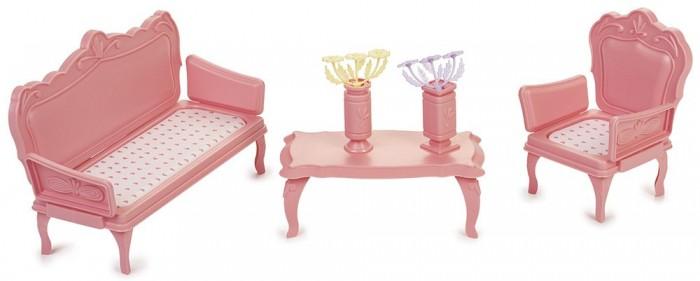 Кукольные домики и мебель Огонек Мебель для кукол Маленькая принцесса огонек кухня маленькая принцесса розовый