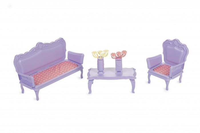 Кукольные домики и мебель Огонек Мебель для кукол Маленькая принцесса кукольные домики и мебель hape мебель для столовой