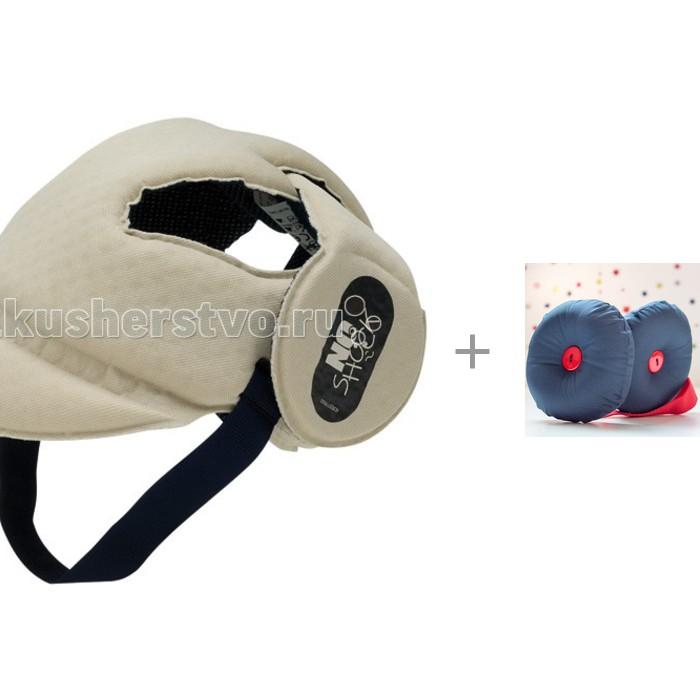 Ok Baby Шлем No Shock с защитой для головы ребенка Yshki Rainbow