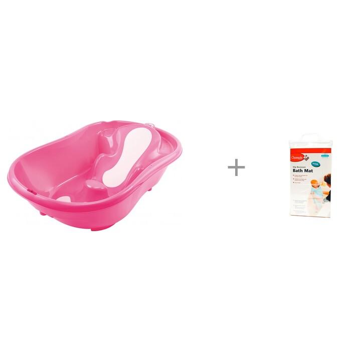 Купить Детские ванночки, Ok Baby Ванночка Onda Evolution и коврик для ванной Clippasafe