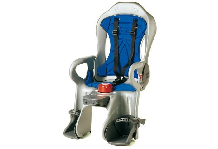Ok Baby Велокресло SiriusВелокресла<br>Ok Baby Велокресло Sirius - это ультрасовременное детское кресло с ABS из Италии. Модель предназначена для детей весом до 22 кг.  Особенности: В первую очередь, ребёнку в этом кресле будет по-настоящему комфортно благодаря высококачественной термической водоотталкивающей обивке – она не станет неприятной на ощупь в любую погоду! Система крепления сиденья комфортно регулируется по длине и закрепляется в 8 различных положениях – это позволяет обеспечить оптимальное положение при установке на самые разные модели велосипедов. Спинка сиденья наклоняется в 7 различных положениях. При этом инновационная система ABS позволяет правильно регулировать центр тяжести, и ни в одном положении кресло не будет влиять на устойчивость велосипеда при езде. Отличную безопасность обеспечивает сигнализатор закрепления, который указывает, когда сиденье прикреплено к велосипеду правильно – неправильное закрепление попросту невозможно. Крепится к трубке сиденья рамы. Подходит для рам диаметром от 28 до 40 мм Подножки регулируются по высоте в 13 положениях и оснащены ремнями безопасности для предотвращения соприкосновения ног ребенка со спицами колеса Ремни безопасности: три точки крепления, регулируемые по высоте в двух положениях и регулируемые по длине Задний отражатель делает сиденье хорошо видимым в свете фар Оснащен крепежным блоком с противоугонной комбинацией Запатентованная модель: оснащена эксклюзивной системой наклона спинки. Простое движение руки взрослого поворачивает ручку управления, которая поднимает и опускает спинку, даже когда ребенок сидит. Сиденье также можно установить на электрический велосипед с помощью педалей. Опорный рычаг поглощает неровности земли Детское велокресло Ok Baby irius станет лучшим выбором для всех родителей – поклонников велосипедов!
