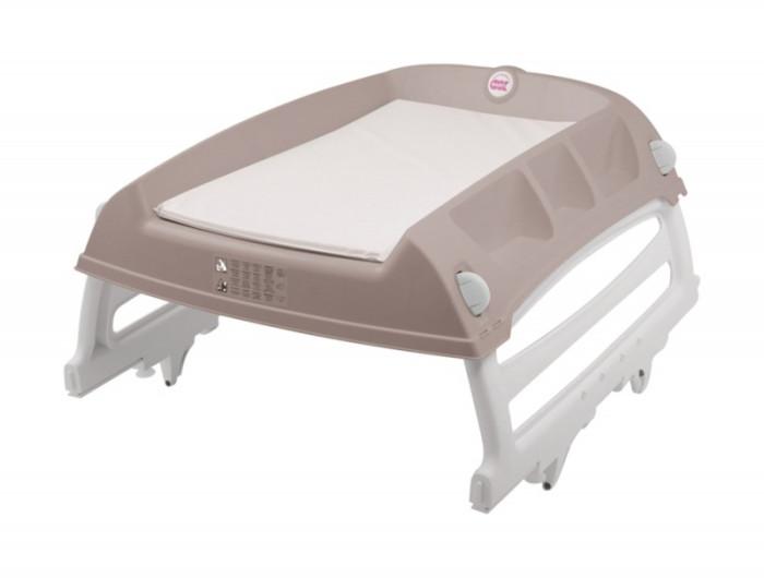 Пеленальный столик Ok Baby FlatFlatПеленальный столик Ok Baby Flat  Ok Baby Flat - это пеленальный столик, который можно использовать в любых условиях благодаря его практичности и универсальности.  С помощью встроенных выдвижных опор его можно установить на стол, в кроватку и даже на ванну. Такая система с регулируемыми выдвижными опорами позволяет закреплять столик с точностью до миллиметра и в условиях полной безопасности для ребёнка.  Особенности: Размеры (В x Д x Ш): 18.3 x 84.6 x 66.2 см. Для установки на ванну - максимальный внутренний размер ванны должен составлять: 74,5 см. Для установки на кроватку - наружное расстояние между стенками (ширина) должно быть от 63 до 73,5 см. Возраст: 0-12 месяцев.<br>