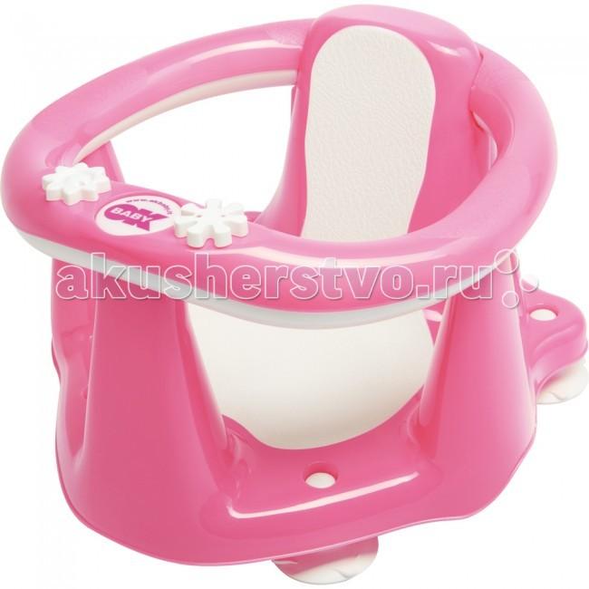 Ok Baby Сиденье в ванну Flipper EvolutionСиденье в ванну Flipper EvolutionВстроенный термодатчик. Ребенок никогда несидит наодном месте, онполучает удовольствие отплескания вводе, амаме всегда нужна помощь. Поэтому OKBaby разработало Flipper Evolution комфортабельный «стул» для купания. Онпредназначен для использования вванной иочень легок вустановке. Имеет анти-скользящее покрытие, края покрыты резиной. СFlipper Evolution - купание всегда будет игрой для вашего ребенка.  Размер: 38x24x36 см. Максимальный вес ребенка: 13 кг;<br>