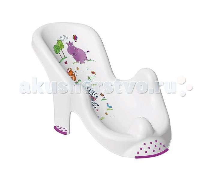 Горки и сидения для ванн OKT Горка для ванны Бегемотик экран для ванны triton александрия 170