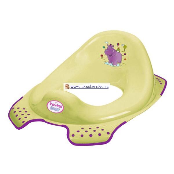 Сиденья для унитаза OKT Накладка на унитаз Hippo Бегемотик ванна okt hippo 1 м 8437 фиолетовый