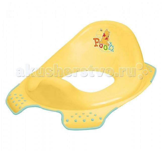 Сиденья для унитаза OKT Накладка на унитаз Disney Винни Пух okt подставка disney винни пух