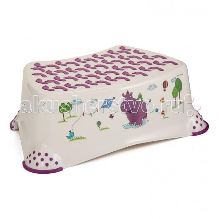 ящики для игрушек okt ящик бегемотик 3 секции Подставки для ванны OKT Подставка Бегемотик