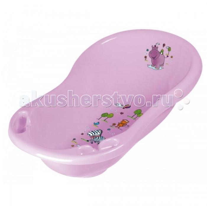 Детские ванночки OKT ванночка Бегемотик 84 см ванна okt hippo 1 м 8437 фиолетовый