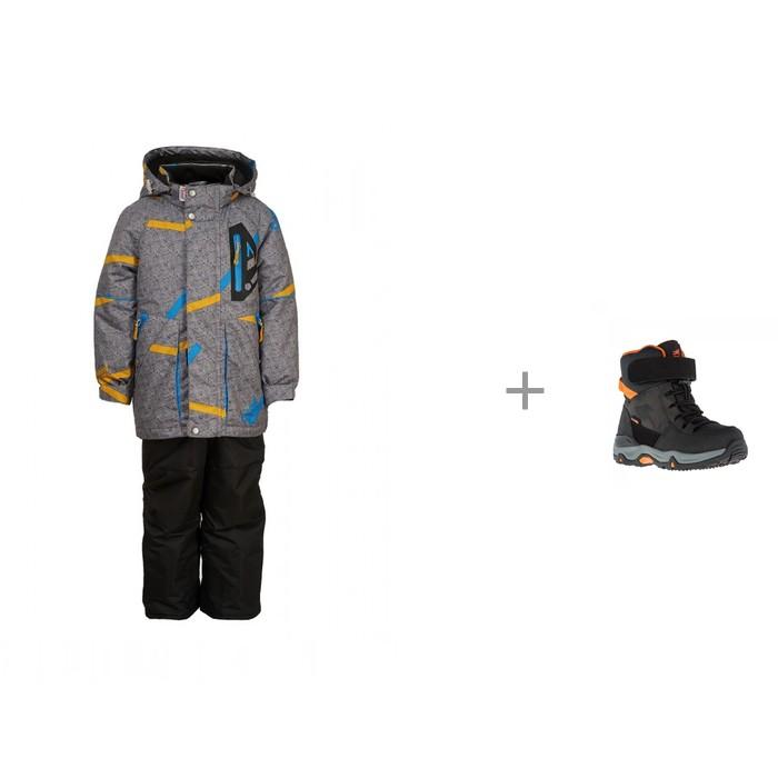 Купить Утеплённые комплекты, Oldos Active Костюм для мальчика Роланд и Kakadu Сапоги для мальчика 8474C