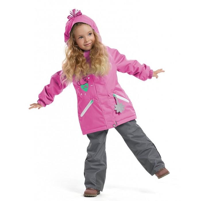 Oldos Active Костюм утепленный для девочки (куртка, брюки) Абра