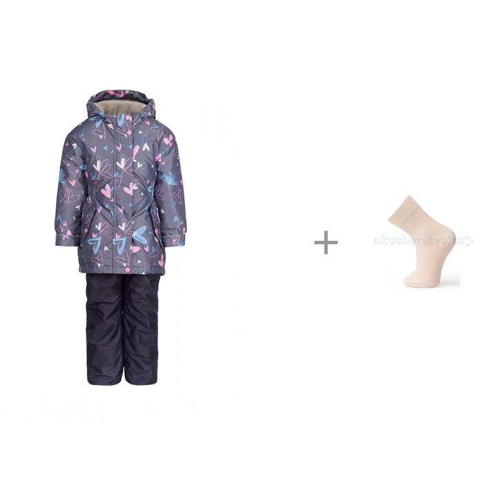 Oldos Jicco Костюм для девочки Алана и Norveg Merino Wool Носки детские