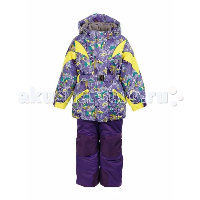 Oldos Комплект для девочки ДазирэКомплект для девочки ДазирэКомплект для девочки OLDOS Дазирэ отлично подойдет как для зимних прогулок в городе, так и для активного отдыха на природе. В нем девочке будет тепло и удобно заниматься любительским спортом в холодную и ветреную погоду.  До 116 размера в комплекте идет куртка и полукомбинезон, а со 122 размера - брюки со спинкой.  Костюм сочетает в себе самые передовые технологии, сложный крой и яркий дизайн. Благодаря мембранной ткани он обладает надежной защитой от ветра и мокрого снега и хорошо «дышит». Для дополнительной защиты от мокрого снега на ткань нанесено специальное тефлоновое покрытие.  Утеплитель HOLLOFAN PRO 200/150 г/м2 не позволит  замерзнуть даже при очень низкой температуре. Для защиты от снега и ветра в куртке костюма есть внутренние манжеты с отверстием для большого пальца, регулируемый капюшон и снего-ветрозащитная юбка, на брюках - противоснежные муфты и усиление в местах износа.<br>