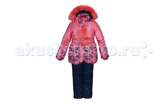 Oldos Комплект для девочки ЖаннаКомплект для девочки ЖаннаКомплект для девочки OLDOS Жанна. В нарядном и уютном костюме из зимней коллекции OLDOS Вашей маленькой принцессе будет тепло и комфортно наслаждаться самыми долгими зимними прогулками. В морозные и особенно ветреные дни съемная подстежка из овечьей шерсти убережет Вашу малышку от холода, а когда немного потеплеет, подстежку с легкостью можно будет отстегнуть. Покрытие Teflon на ткани костюма создаст надежную защиту от снега и грязи, а легчайший утеплитель Hollofan 250 г/м2 в куртке и 200 г/м2 в брюках подарит ребенку удовольствие от прогулки в любую, даже самую холодную и снежную погоду.  Мягкая хлопковая подкладка на спине и груди куртки приятно прилегает к телу, а гладкий полиэстер в рукавах, капюшоне и в полукомбинезоне помогает с легкостью одеть костюм на любую одежду. Мокрый липкий снег и пронизывающий холодный ветер не смогут помешать вашим зимним прогулкам - ветрозащитная планка, съемная опушка из искусственного меха на капюшоне, снего- ветрозащитные муфты в рукавах и брючинах надежно защитят ребенка от зимней непогоды. Широкие эластичные лямки полукомбинезона регулируются по длине, а резинка на талии подчеркивает силуэт и обеспечивает отличное прилегание.  В этом костюме можно будет отправиться на прогулку даже в сумерках - светоотражающие элементы сделают Вашу малышку заметной в темное время суток, а присборенный на резинку низ куртки и стильный пояс с металлической пряжкой позволят ей почувствовать себя самой модной и красивой девочкой на прогулке.<br>