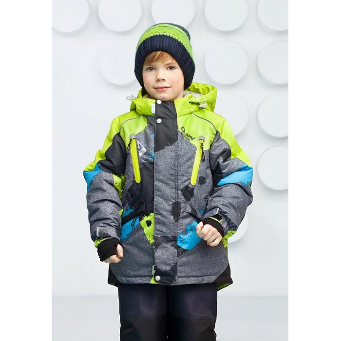 Oldos Комплект для мальчика ВилсонКомплект для мальчика ВилсонКомплект для мальчика OLDOS Вилсон создан специально для активных зимних прогулок. В нем Вашему ребенку будет тепло и удобно кататься на сноуборде, тюбинге и играть в хоккей с друзьями во дворе.  До 116 размера в комплекте идет куртка и полукомбинезон, а со 122 размера - брюки со спинкой.  Костюм сочетает в себе самые передовые технологии, сложный крой и яркий дизайн. Для дополнительной защиты от снега и ветра на дышащую мембранную ткань костюма нанесено водоотталкивающее покрытие Teflon.   Современный утеплитель HOLLOFAN PRO 200/150 г/м2 позволяет одежде оставаться легкой  и при этом быть очень теплой. Регулируемый капюшон, внутренние манжеты с отверстием для большого пальца, снего-ветрозащитная юбка на куртке и муфты на брюках с усилением в местах износа не допустят попадания снега под одежду ребенка даже во время метели и снегопада.<br>