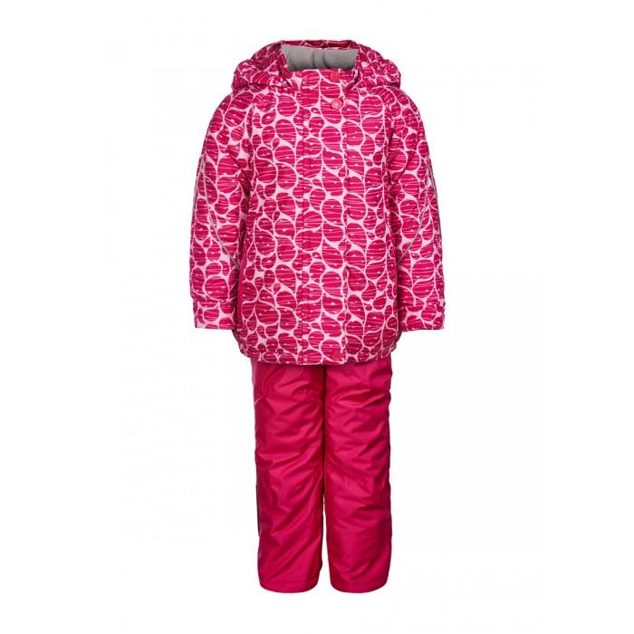 Oldos Комплект одежды для девочки Капелька (куртка, полукомбинезон)