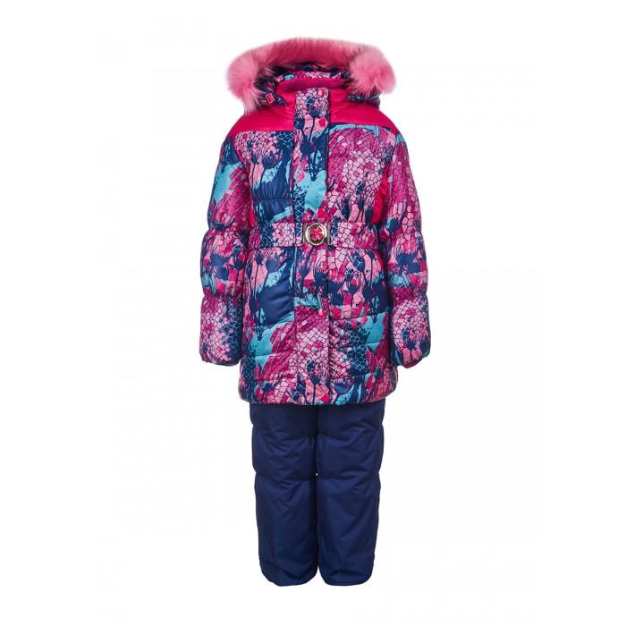 Oldos Комплект одежды для девочки (куртка, полукомбинезон) Виталина