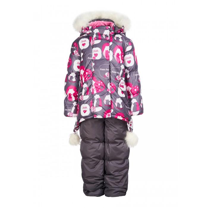 Зимние комбинезоны и комплекты Oldos Комплект одежды для девочки (куртка, полукомбинезон) Жули, Зимние комбинезоны и комплекты - артикул:594949