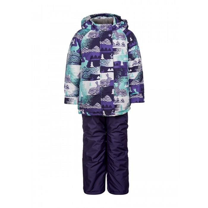 Oldos Комплект одежды для девочки Снежана (куртка, полукомбинезон)