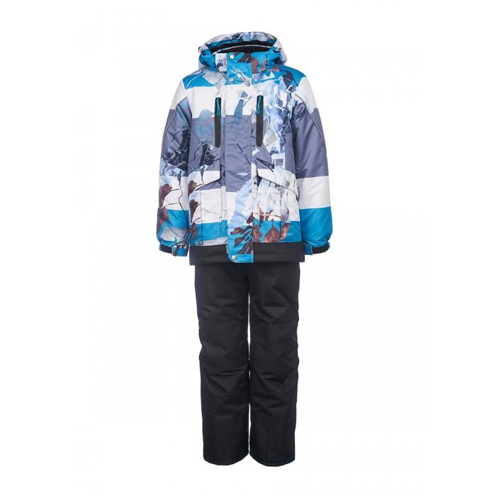 Зимние комбинезоны и комплекты Oldos Комплект одежды для мальчика (куртка, полукомбинезон) Ясон, Зимние комбинезоны и комплекты - артикул:594184