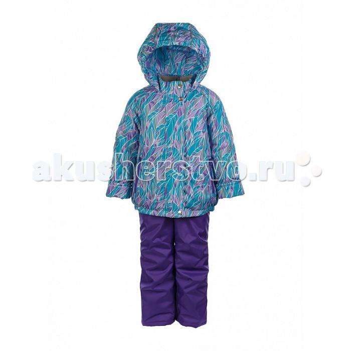 Oldos Костюм для девочки АделаКостюм для девочки АделаКостюм для девочки OLDOS Адела. Костюм отлично подойдет  для зимних прогулок в любую погоду. Эта практичная и  износостойкая модель надежно защитит Вашу девочку от холода, снега и ветра. Ребенку будет комфортно на прогулке даже в мороз благодаря легкому, не добавляющему объема одежде и при этом очень теплому утеплителю HOLLOFAN 300/150 г/м2.  Внешняя ткань с водо-грязеотталкивающей пропиткой предотвратит попадание мокрого снега и ветра под одежду. Слитный капюшон, воротник-стойка, ветрозащитные планки, внутренние трикотажные манжеты в рукавах куртки и снего-ветрозащитные муфты в брючинах полукомбинезона усиливают защиту от зимней непогоды.  Рукава и брючины костюма можно подвернуть.<br>