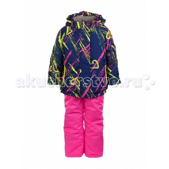 Oldos Комплект для девочки ГалатаКомплект для девочки ГалатаКомплект для девочки OLDOS Галата отлично подойдет  для зимних прогулок в любую погоду. Эта практичная и  износостойкая модель надежно защитит Вашу девочку от холода, снега и ветра.  Ребенку будет комфортно на прогулке даже в мороз благодаря легкому, не добавляющему объема одежде и при этом очень теплому утеплителю HOLLOFAN 300/150 г/м2. Внешняя ткань с водо-грязеотталкивающей пропиткой предотвратит попадание мокрого снега и ветра под одежду. Слитный капюшон, воротник-стойка, ветрозащитные планки, внутренние трикотажные манжеты в рукавах куртки и снего-ветрозащитные муфты в брючинах полукомбинезона усиливают защиту от зимней непогоды. Рукава и брючины костюма можно подвернуть.<br>