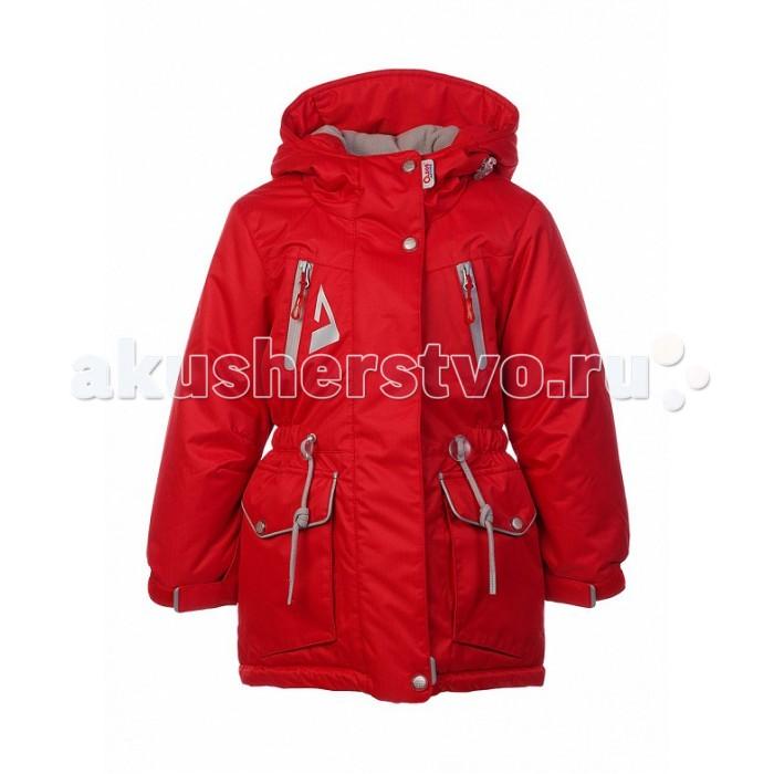 Oldos Куртка для девочки КиараКуртка для девочки КиараКуртка для девочки OLDOS Киара - замечательный вариант для прогулки в парке, игр на детской площадке и для занятий зимними видами спорта. Она не промокает, не продувается и отлично защищает от холода.  Куртка-парка обеспечивает исключительную защиту от снега и ветра.  Она выполнена из мембранной ткани с тефлоновым покрытием. Современный утеплитель HOLLOFAN PRO 150 г/м2 не позволит ребенку замерзнуть даже в морозный день. Съемный регулируемый капюшон, ветрозащитные планки, внутренние манжеты с отверстием для большого пальца, снего-ветрозащитная юбка, регулировка на талии и по низу куртки обеспечат девочке прекрасную защиту от мокрого снега и ветра на зимней прогулке.<br>
