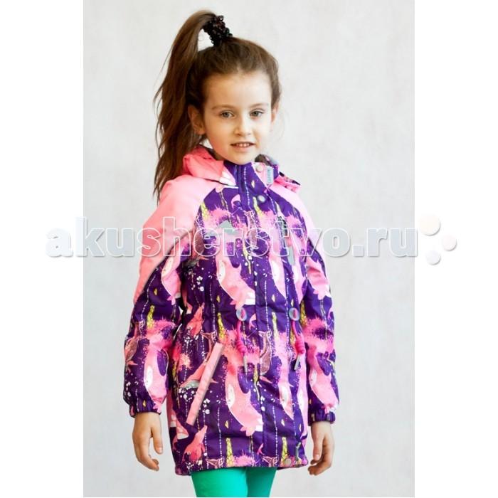 Детская одежда , Ветровки, плащи, дождевики и жилеты Oldos Куртка для девочки Васса арт: 376239 -  Ветровки, плащи, дождевики и жилеты