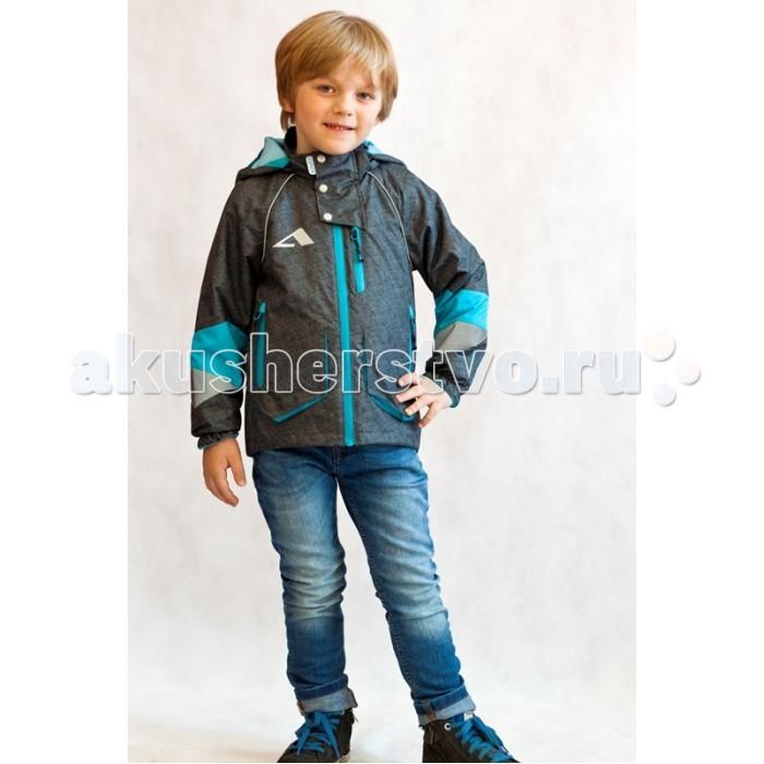 Oldos Куртка для мальчика ЮджинКуртка для мальчика ЮджинКуртка OLDOS Юджин для мальчика. Мембранная куртка 3в1 из коллекции OLDOS ACTIVE – это не просто ветровка. Это целых три варианта куртки для непоседливых мальчиков и капризной весенне-осенней погоды.  Съемную флисовую подстежку можно носить как отдельную кофту. Ветровка без подстежки пригодится в прохладный и ветреный день, а в теплой куртке с подстежкой не страшны даже заморозки. Двойная ветрозащитная планка, манжеты на резинке, утяжка по низу куртки и в съемном капюшоне усилят защиту от непогоды. Карманы на молнии незаменимы для мелочей, а светоотражающие - для безопасности Вашего непоседы.  Съемная флисовая кофта-подстежка из двухстороннего флиса, с карманами Ветрозащитная планка с защитой подбородка. Съемный капюшон, вшита резинка для лучшего прилегания. Воротник-стойка с мягкой флисовой подкладкой. Регулируемая утяжка по низу ветровки. Манжеты на резинке. Карманы на молнии. Нашивка-потеряшка. Светоотражающие элементы.<br>