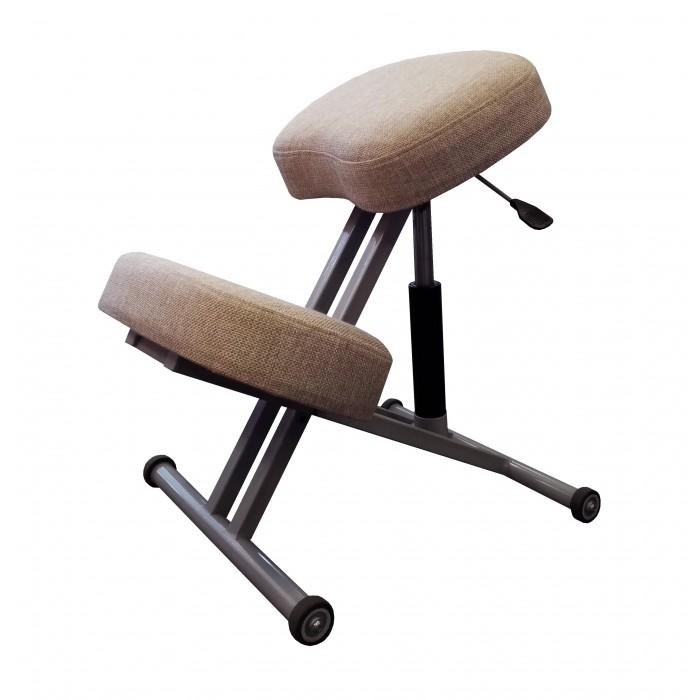 Олимп Коленный стул повышенной комортности с газлифтом СК1-2ГЛ (черный корпус)