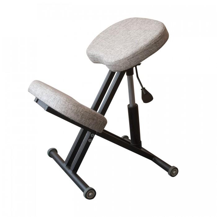 Олимп Коленный стул с газлифтом СК1-1ГЛ (черный корпус)