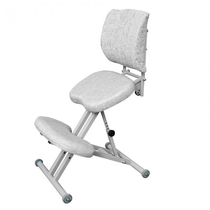 Купить Детские столы и стулья, Олимп Коленный стул со спинкой СК2-1 (серый корпус)