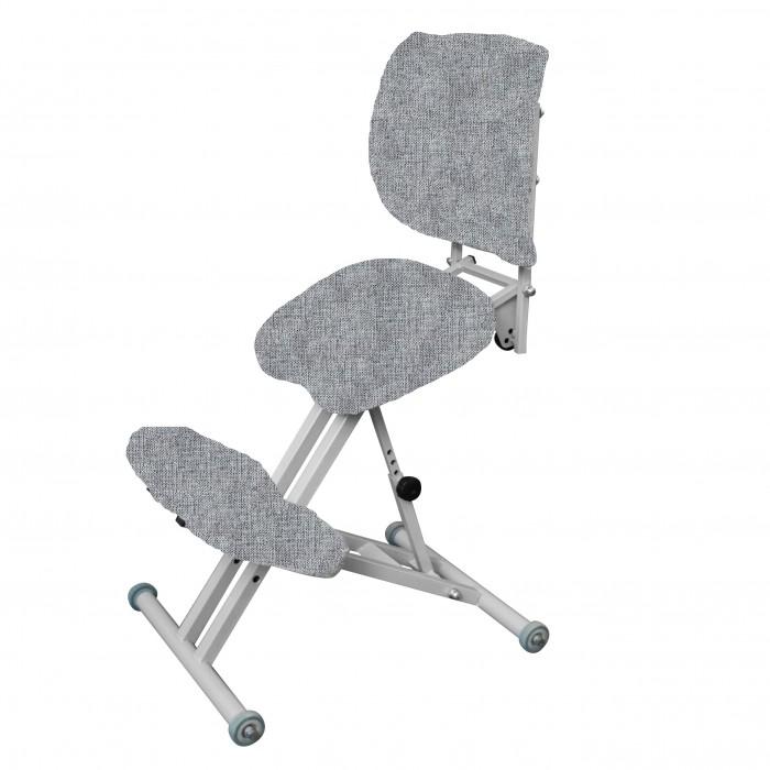 Олимп Коленный стул со спинкой СК2-1 (серый корпус)