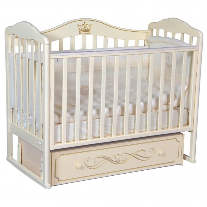 детские кроватки oliver francesca elegance premium универсальный маятник Детские кроватки Oliver Francesca Elite (универсальный маятник)